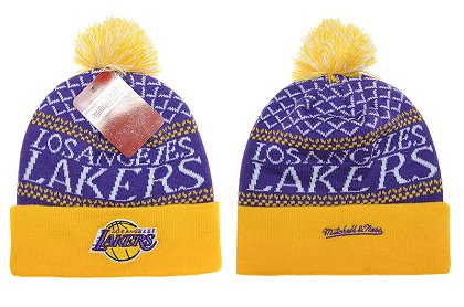 Los Angeles Lakers Beanies DF 150306 2